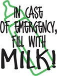 In Case of Emergency..Milk!