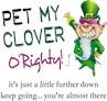 Pet My Clover
