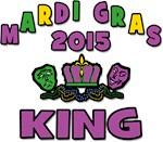 Mardi Gras King 2015 T-Shirts Gifts