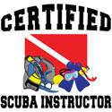 Certified SCUBA Instructor T-Shirt & Gifts