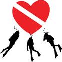 Love SCUBA Diving T-Shirt & Gifts
