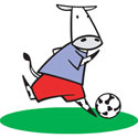 Soccer Cow T-Shirt & Gifts