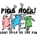 Pigs Rock T-Shirt And Gifts