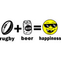 Rugby Happiness T-Shirt