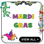 Mardi Gras T-Shirt Funny Mardi Gras T-Shirts