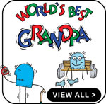 New Grandpa T-Shirts Personalized New Grandpa Gift