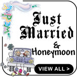 Personalized Just Married T-Shirts Custom Married