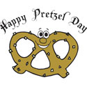 Happy Pretzel Day T-Shirt