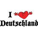 I Love Deutschland T-Shirt