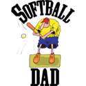 Softball Dad T-Shirt and Gifts