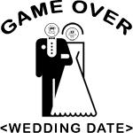 Groom Game Over (Wedding Date) T-Shirt
