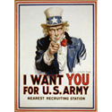 I Want You For The Army T-Shirt