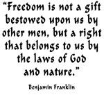Freedom Bestowed