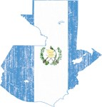 Guatemala Flag And Map