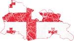 Georgia Flag And Map