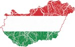 Hungary Flag And Map