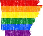 Aransas Rainbow Pride Flag And Map