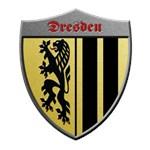 Dresden Germany Metallic Shield