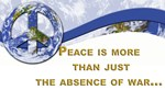 Peace is About More.,..