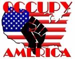 Occupy America USA Flag