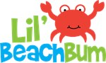 Boy Crab Lil' Beach Bum