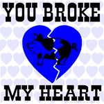 You Broke My Heart Pig Ice Cold Blue