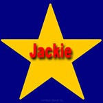Jackie Star Monogram