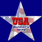 Soldier's Wife Patriotic Star