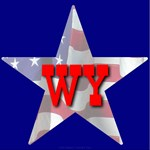 WY Patriotic State Star