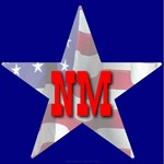 NM Patriotic State Star