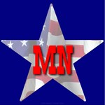 MN Patriotic State Star