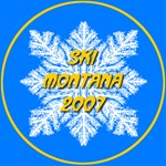 * On Sale * Ski Montana 2007 Snowflake 