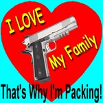 I Love My Family That's Why I'm Packing