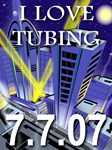 7.7.07 I Love Tubing (No Sale)