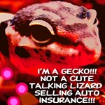 I'm A Gecko! Styled Red