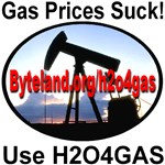 Gas Prices Suck!  H2O4GAS: Please help promote H2O4GAS