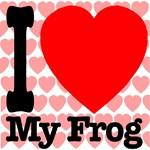 I Love My Frog