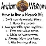 Ancient Wisdom: how to live a blessed life