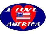 I Love America Ellipse