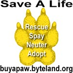 Save A Life Buy A Paw