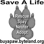 Save A Life Buy A Paw First Edition