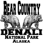 Bear Country Denali National Park Alaska