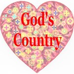 God's Country Pink Heart