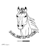 Mustang Plain Horse