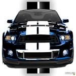 New Mustang GT Black