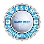 Volleyball Player Customized