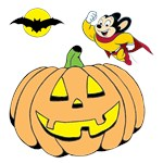 Mighty Mouse Halloween