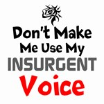 Dont Make Me Use My Insurgent Voice