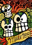 Day of the Dead Sugar Skull Design 2