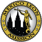 Mexico Leon LDS Mission Classic Seal Gold